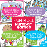 Numbers 1-20 Game Pack Math Center / Counting