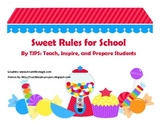 Sweet Rules for School Class Rules