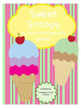 Sweet Scoops {Contraction Fun}