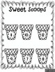 Sweet Scoops Cut and Paste Math Activities with 3 addends