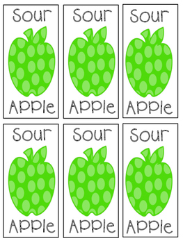 Sweet Second Grade Dolch Apples { A Second Grade Dolch Word Game }