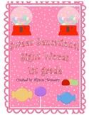Sweet Sensational Sight Words (Treasures 1st Grade Smart Start and Unit 1)