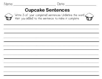 Sweet Sentences