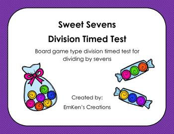 Sweet Sevens Division Timed Test
