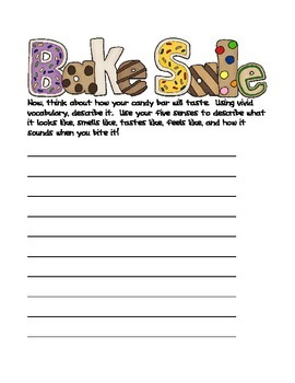 Sweet Shades of Meaning Writing Activity