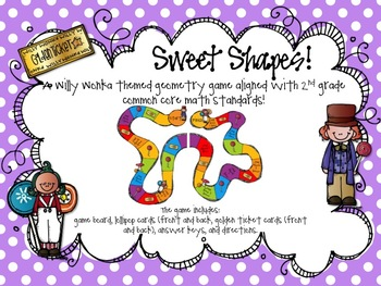 Sweet Shapes Geometry Game