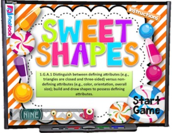 Sweet Shapes Smart Board Game