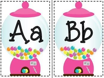 Alphabet Line: Sweet Treat Theme