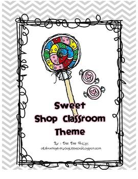Sweet Shop Classroom Theme