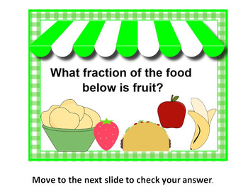 Sweet Shop FRACTIONS on POWERPOINT