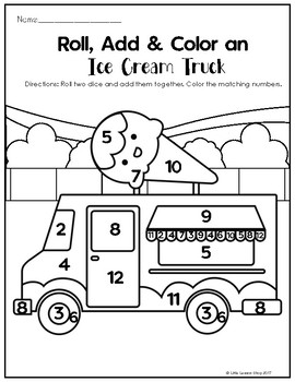 Sweet Shop Kindergarten Math Worksheets