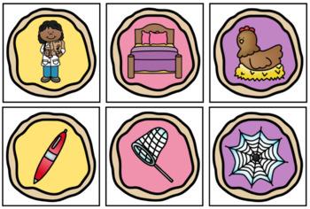 Sweet Shop Literacy Centers for Kindergarten