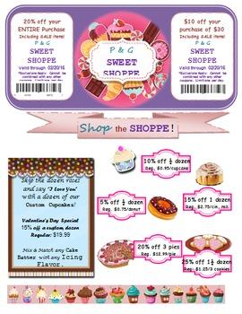 Sweet Shop Percent Activity
