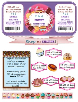 Sweet Shop Percent Activity