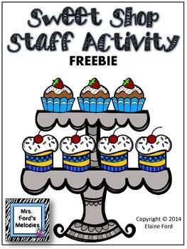 Sweet Shop Staff Activity {FREEBIE}