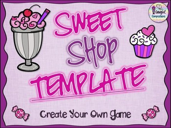 Sweet Shop Template - Create Your Own Game