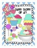 Sweet Shoppe Clip Art: Candy, Ice Cream, Banana Splits!
