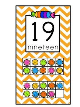 Sweet Shoppe Number Line