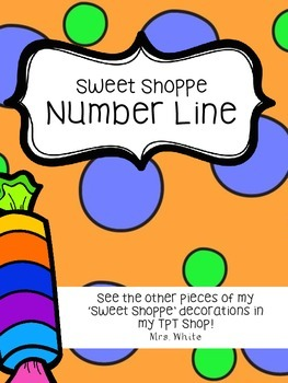 Sweet Shoppe Number Line