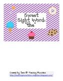 Sweet Sight Word Reading (Cut & Paste)