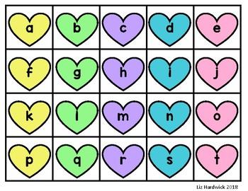 Valentine Sweet Sight Words