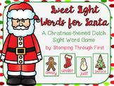 Sweet Sight Words for Santa