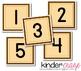 Sweet & Simple Calendar Numbers {Harvest Hues}