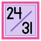 Sweet & Simple Calendar Numbers {Lovestruck}