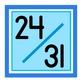 Sweet & Simple Calendar Numbers {Raindrop}
