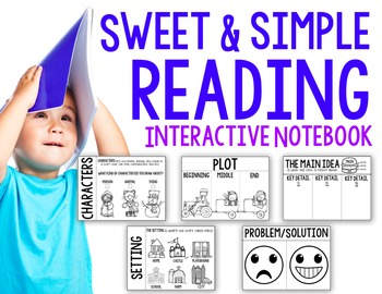 Sweet & Simple Reading Interactive Notebook