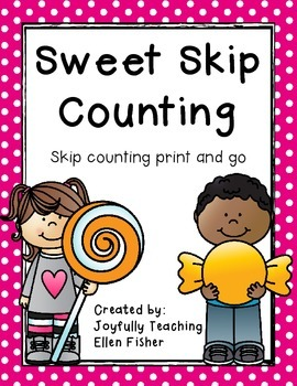 Sweet Skip Counting Print and Go