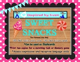 """Sweet Snacks""  Picture Cards for Autism"