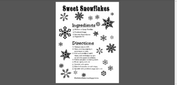 Sweet Snowflake Snack Recipe
