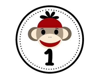 Sweet Sock Monkey Classroom Decor