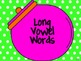 Sweet Sounding Words to Read and Sort Game