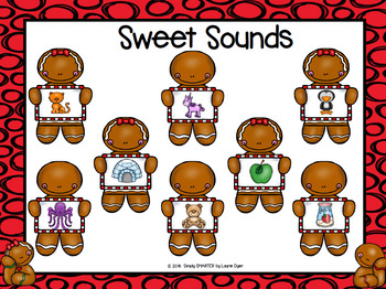 Sweet Sounds:  NO PREP Gingerbread Grab and Cover Game