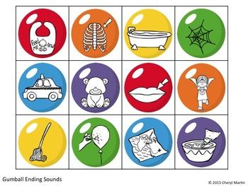 Sweet Sounds Phonological Awareness Activities