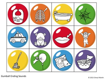 Sweet Sounds Phonological Awareness Activities