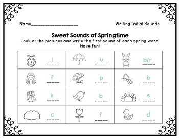 Sweet Sounds of Spring