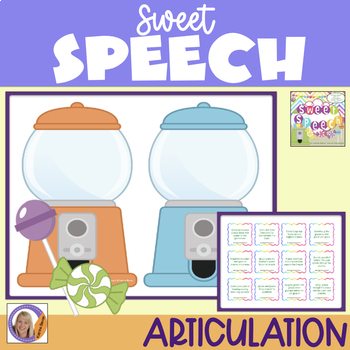 Articulation Game for speech and language therapy: Sweet Speech Tongue Twisters