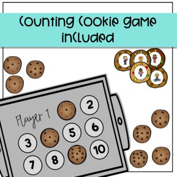 Sweet Speech Cookies: Verb and Pronoun Game