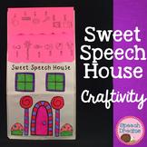 Sweet Speech House Craft {articulation language craftivities}