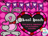 Sweet Speech: Valentine's Day No-Prep Articulation