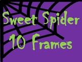 Halloween Sweet Spider 10 Frames