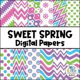 Sweet Spring Digital Paper FREEBIE