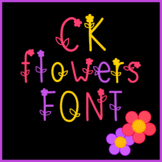 Sweet Spring Flower Font for Commercial Use