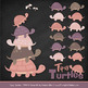 Sweet Stacks Tipsy Turtles Stack Clipart in Buff