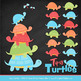 Sweet Stacks Tipsy Turtles Stack Clipart in Fresh Boy