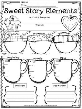 Sweet Story Elements {Intermediate}