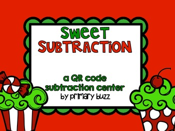 Sweet Subtraction! QR Code Subtract the Room